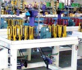 编织机生产车间