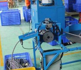 生产车间编织设备