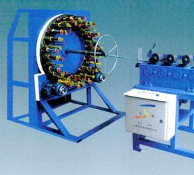 100X-48锭卧式编织机
